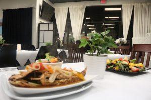 Yah Mon Caribbean Fish and Salad